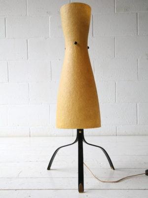 1950s Fibreglass Steel Lamp 4