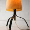 1950s Fibreglass Steel Lamp 8