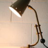 1950s French Brass Desk Lamp 1