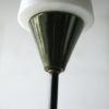 1950s French Glass Triple Floor Lamp 3