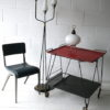 1950s French Glass Triple Floor Lamp 5
