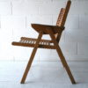 1950s 'Rex' Folding Armchair by Niko Kralj 1