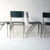 1950s Stacking Chairs by James Leonard for Esavian