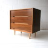 1960s C Range Walnut Chest of Drawers by Stag 3