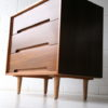 1960s C Range Walnut Chest of Drawers by Stag 4