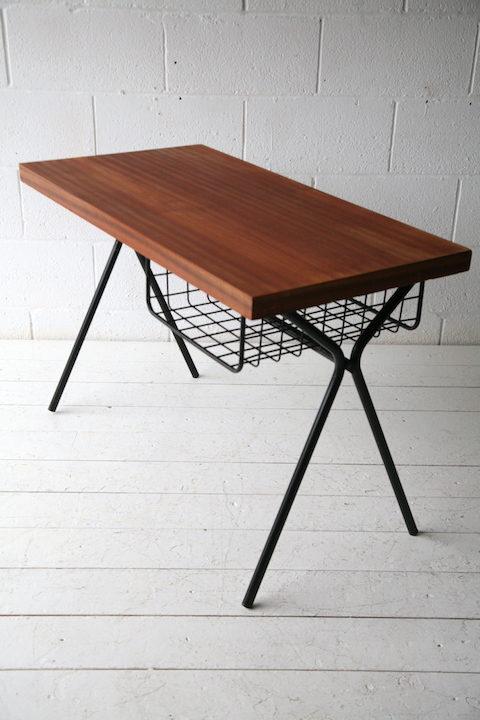 1960s French Teak Desk 1