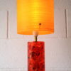 1960s Shatterline Lamp with Fibreglass Shade