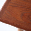 1960s Square Danish Teak Coffee Table 3