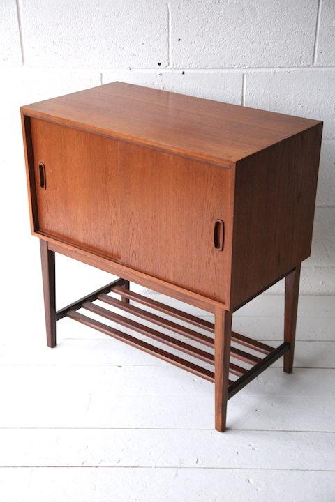 1960s Teak Record Cabinet 2