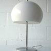 1970s Chrome Mushroom Table Lamp 1
