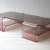 1970s Plexiglass Coffee Table by Michel Dumas