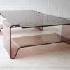 1970s Plexiglass Coffee Table by Michel Dumas 2