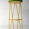 Coloured Modern Wire Stools 5