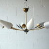 Large 1950s Chandelier by Arlus France 3