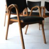 Rare Set of Bentwood Stacking Chairs by James Leonard 6