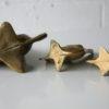 Set of 3 Vintage Brass Fish 1