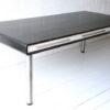 Vintage 1970s Black Ash Desk by Dyrlund Denmark 2