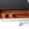 Vintage 1970s Black Ash Desk by Dyrlund Denmark 3