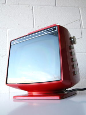 Vintage Sanyo Solid State Television 5