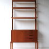 Vintage 'Veggen De Luxe' Modular Teak Wall Unit 2 3