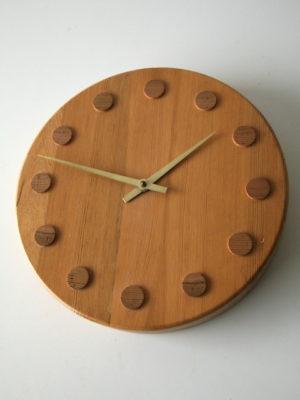 Vintage Wall Clock by Aarikka