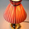 1950s Ceramic Lamp and Shade 5