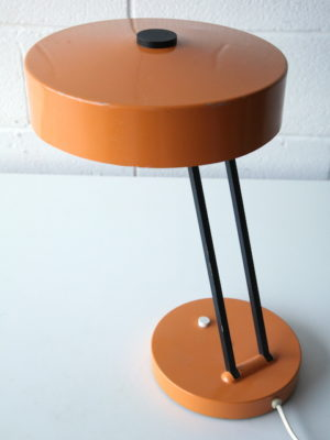 1950s Orange Desk Lamp 2