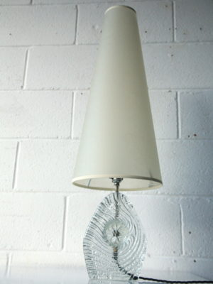 1960s Italian Glass Lamp 3