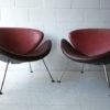 Pierre Paulin Orange Slice Chairs for Artifort 2