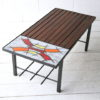 Vintage French Tiled Table 5