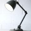 Vintage Memlite Industrial Desk Lamp