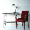Vintage Memlite Industrial Desk Lamp 2