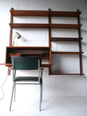 Vintage Teak Shelving System