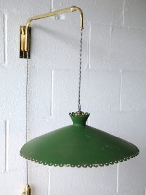 1950s Brass Extendable Wall Light 5