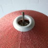 1950s Floor Lamp with Pleated Shade 1