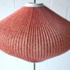 1950s Floor Lamp with Pleated Shade