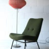 1950s Floor Lamp with Pleated Shade 6