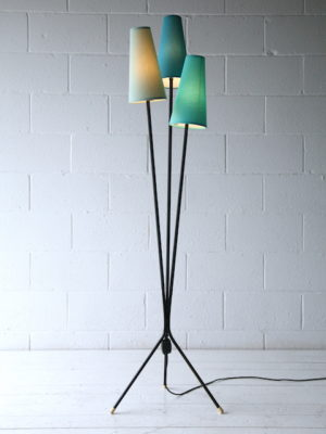 1950s Triple Floor Light 1