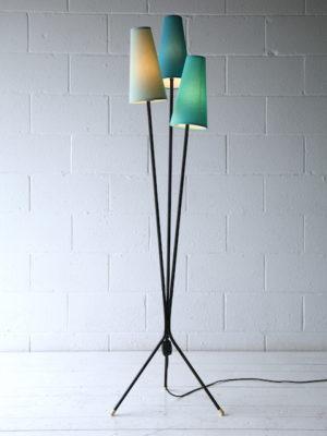 1950s Triple Floor Light 1