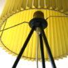 1950s Yellow Tripod Floor Lamp 3