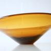 1960s Amber Glass Bowl 1