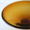 1960s Amber Glass Bowl 3
