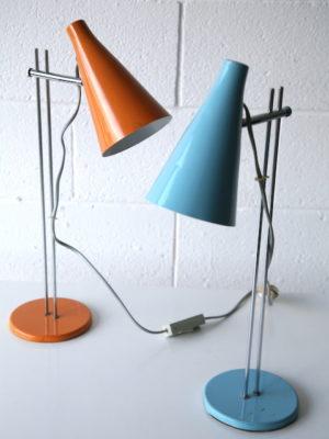 1960s Desk Lamps by Josef Hurka for Lidokov 4