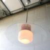 1960s Glass Ceiling Light 6