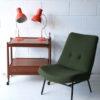 1960s Orange Desk Lamps by Josef Hurka for Napako 1