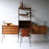 1960s Teak Shelving System by Brianco