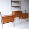 1960s Teak Shelving System by Brianco 4