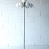 1970s Glass Chrome Floor Lamp 1