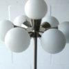 1970s Glass Chrome Floor Lamp 2
