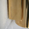 Brass and Glass Wall Lights or Sconces by Glashutte Limburg 3